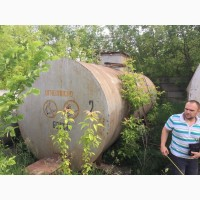 Резервуар, емкость 23 м3 толстостенный в габарите