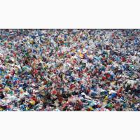 Закупаем отходы от переработки ПЭТ бутылок смесь крышек и этикеток