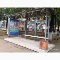 Расклейка по остановкам города Кирова