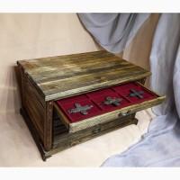 Мюнцкабинет для хранения монет, металлопластики, медалей