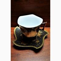 Чайная пара Yamasen Gold 24К Япония