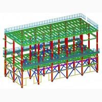 Инженерный центр КМД - разработка чертежей стадии КМ и КМД