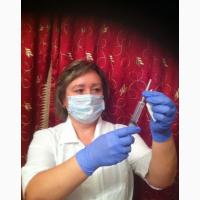 Медсестра на дом. Капельницы, уколы, вывод из запоя в Москве и области