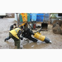 Бур Drd-20 (Англия) для экскаваторов массой 12-25 тонн