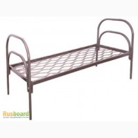 Кровати на металл каркасе для санатория, кровати от производителя оптом