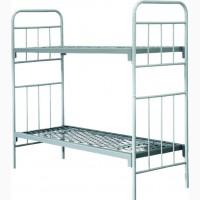 Металлические кровати одноярусные и двухъярусные