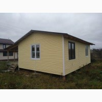 Новый теплый каркасный дом в экологически чистом райцентре Калужской области