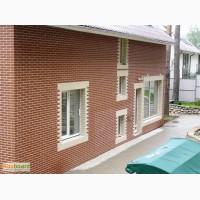 Отделка и облицовка стен и фасадов клинкерной плиткой