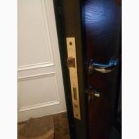 Ремонт и вскрытие металлической китайской двери