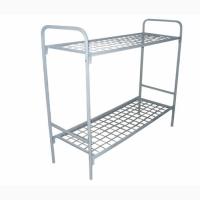 Кровати металлические одноярусные и двухъярусные с бесплатной доставкой