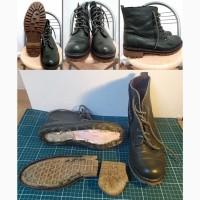 Замена подошвы на обуви