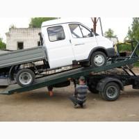 ЭВАКУАТОР с ломаной платформой на ГАЗ-3302 «ГАЗель