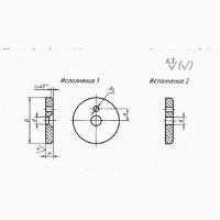Шайбы концевые ГОСТ 14734-69