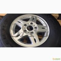 Оригинальные бронированные колёса Mercedes G500