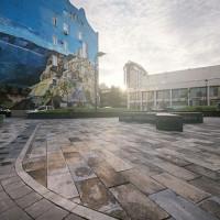 Тротуарная плитка с гранитной крошкой - «Каменный век»