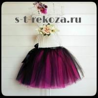Продам юбка пачная пышная из фатина сетки 2-х цветная