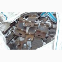 Железнодорожная рельсовая подкладка КБ-65 (САЛДА) сг ГОСТ 16277-93 на складе
