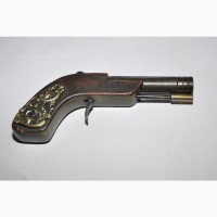 Оригинальный маленький дорожный пистолет капсюльного типа. 19 век