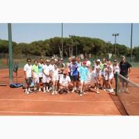 Летний Теннисный лагерь 2018