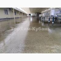Пыль от бетонного пола в цехе, складе, гараже?