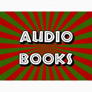 Аудиокниги на английском языке, создание озвучка диктор аудио, видео