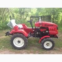 Мини-трактор Rossel XT-184D с блокировкой дифференциала
