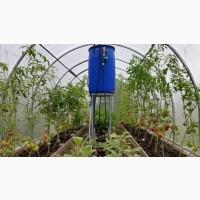 Система капельного полива растений в теплице КПК 24 готовый набор под ключ