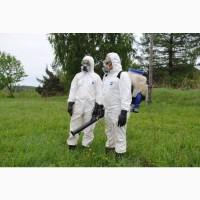 Обработка участков от клещей, ос, комаров в Дмитрове