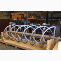 Изготовление Шнековых спиралей. Толщина до 12 мм. Наружный диаметр до 1200 мм