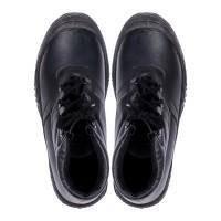 Продам Ботинки кожанные утепленные, черные, п-во Украина
