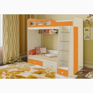 Детская двухъярусная кровать Астра 3