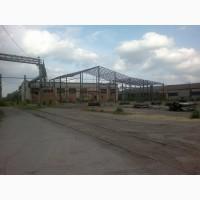 Производственное помещение большой участок жд путь прирельсовый склад