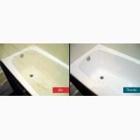 Реставрация ванны (акриловый вкладыш, жидкий акрил)