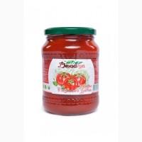 Томаты неочищенные в томатной заливке Денница 0.72