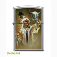Зажигалка Zippo 200 Legend of White Buffalo Chrome