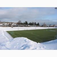 Электрический подогрев спортивной площадки, футбольного поля