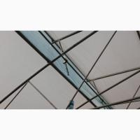 Опора привода крышного проветривания теплиц