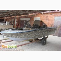 Моторная лодка Касатка-440