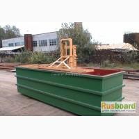 Ванна для антисептирования древесины и пиломатериалов IHV 6.7