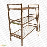 Кровати металлические для армии, рабочих, кровати металлические одноярусные и двухъярусные