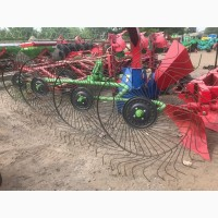 Грабли - ворошилки производство Agrolead 2.6м.(четырехколесные)