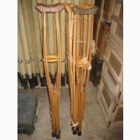 Костыли для взрослых деревянные