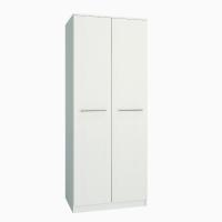 Шкаф распашной 2-х дверный ЛАНС-1 Белый