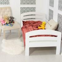 Кровать подросковая Феалта-baby Лахта Белая
