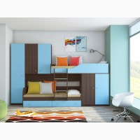 Детская двухъярусная кровать «Лео»