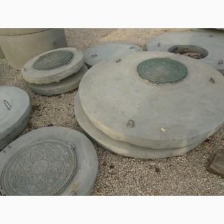 Плита перекрытия ППЛ-15 (крышка колодца со встроенным люком)