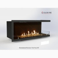 Встраиваемые биокамины «Очаг Focus MS-арт.007» ТМ Gloss Fire