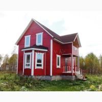 Новый теплый дом с балконом, скважиной и электричеством, рядом с озером Плещеево