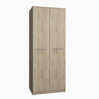 Шкаф распашной 2-х дверный ЛАНС-1 Дуб Сонома