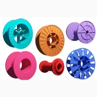 Широкий ассортимент пластиковых катушек промышленного применения от компании Орпласт